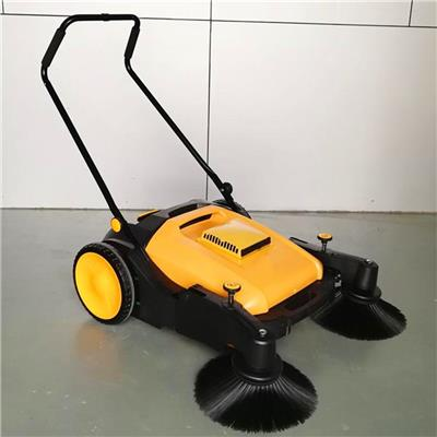 地面道路垃圾清理掃地機 無動力物業街道清掃機 手推式環衛掃路車