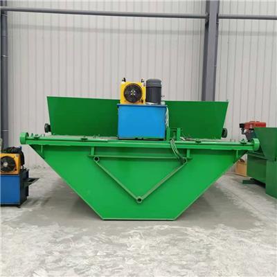 供應全自動液壓自走式水渠成型機 水渠攤鋪機 農田灌溉用水渠成型機