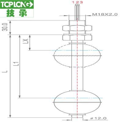 2260型 直桿式液位計-開關