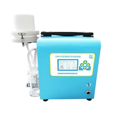 第三方檢測常用便攜式水質水樣抽濾器