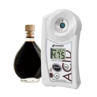 ATAGO愛拓 便攜式數顯白醋食用醋酸度計 PAL-Easy丨ACID 181