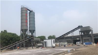 供應900噸/h穩定土拌合站