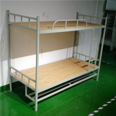 郴州上下鋪鐵床永固帶鞋架直管方管床