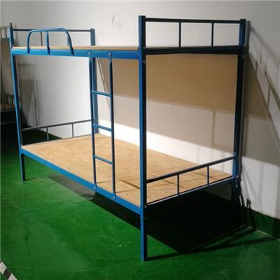 郴州鐵架床定制永固藍色方管床