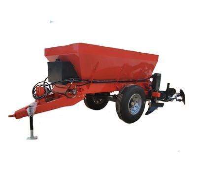 拖拉機后傳動牽引式開溝施肥一體機