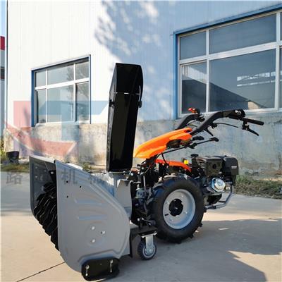 6.5馬力拋雪機價格 電啟動三合一除雪機 1米道路積雪鏟雪機廠家