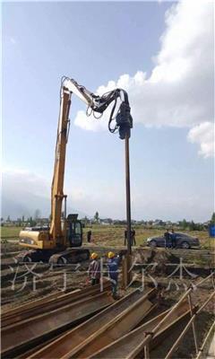 *定做路友530 18米挖掘機打樁臂 打樁加長臂 拆樓加長臂