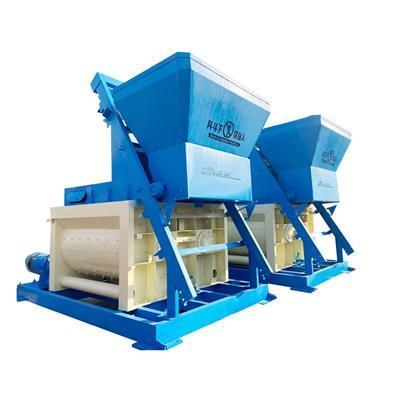 JS**制型雙臥軸式混凝土攪拌機