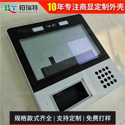 鉑瑞特21.5寸人臉識別智能識別門禁機外殼金屬按鍵NFC雙目攝像頭一體機