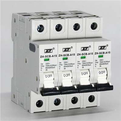后備保護器SCB與熔斷器和斷路器特性對比