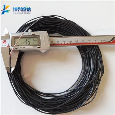 石墨涂層低噪音電纜線STYV-1-1 外徑1.5mm