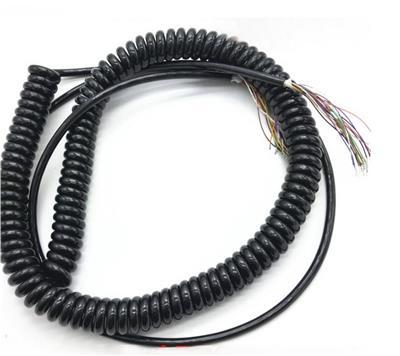斯拜秀 螺旋彈簧電纜 ABS螺旋形柔性電纜總成