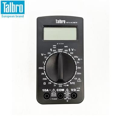 Talbro 袖珍數字萬用表 機身尺寸:128×70×30mm 型號:010101012
