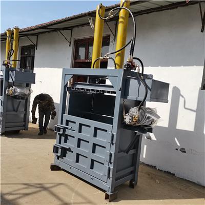 塑料瓶80噸立式液壓打包機 雙缸油漆桶壓包機