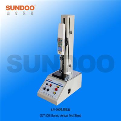 山度儀器SJY-1000電動機臺立式測力機臺 推拉力計臺