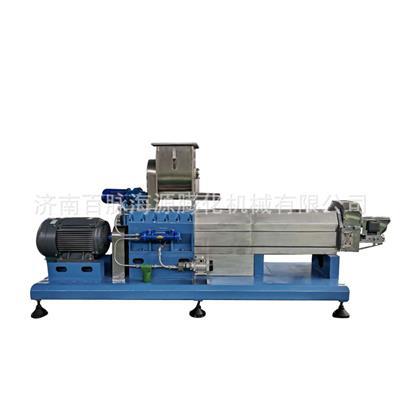 三螺桿膨化機大豆飼料膨化機 膨化大豆飼料設備生產廠家