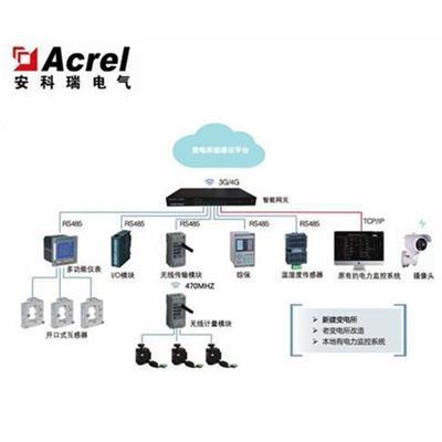 安科瑞35KV配電房電力監控系統 10kV配電后臺系統 變電所改造實時監控