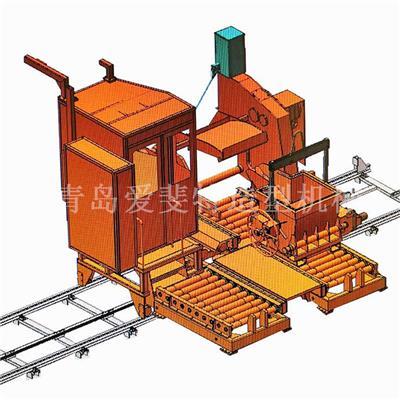 全自動鐵水澆鑄機配線使用 澆包1噸三軸聯動傾轉式重力澆注機