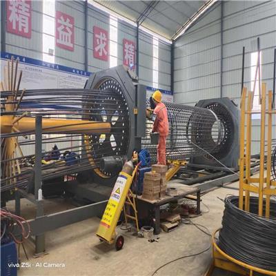 四川滾籠焊機廠家 鉆孔樁鋼筋籠滾焊機