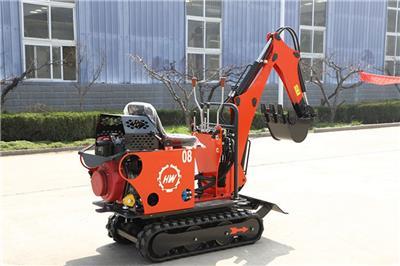 小型挖掘機 家用微型農用小挖機 工程果園挖溝機多功能挖掘機 農用微型挖掘機挖土機 迷你勾機園林工程破碎