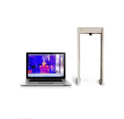溫度探測門、人體測溫門、門式測溫儀、測溫安檢門