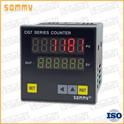SOMMY松美儀表TC7-M1計米器CG7-RB60