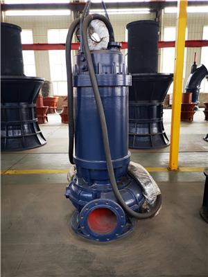 南平市QW無堵塞潛水排污泵自動安裝,自動控制