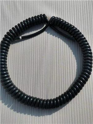 彈簧電線 黑色工程機械螺旋電纜彈簧線
