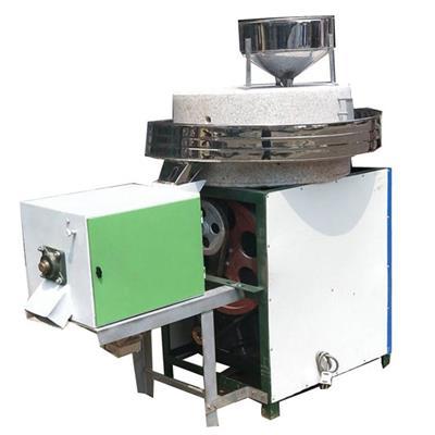 五谷雜糧磨粉石磨機 青稞面研磨石磨機 商用電動石磨機價格