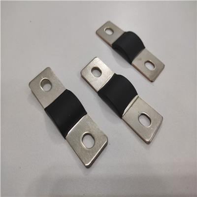 東莞鋰電池組裝導電軟銅排 非標銅箔軟連接廠家焊接加工