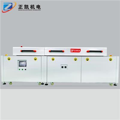 自動化uv隧道爐ZKED-4570+IR人工投料流平UV爐廠家供應