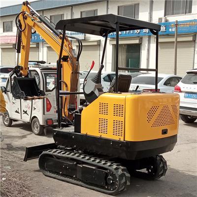 小型挖掘機 果園家用挖掘機 多功能履帶小挖機