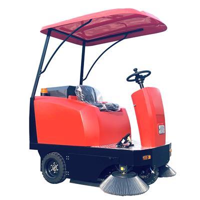 廠家**新款電動掃地車 三輪駕駛式掃地機 大吸力電動清掃車