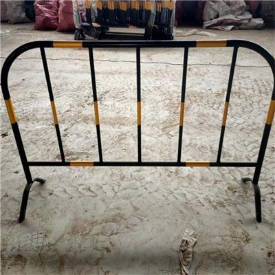 1*1.5米尺寸護欄 黃黑圍欄 施工防護圍欄網