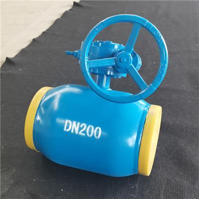 河北熱通供應 熱力管道球閥 全焊接渦輪球閥