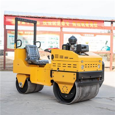 800座駕壓路機 雙輪座駕壓路機 坑道振動壓路機 天科機械