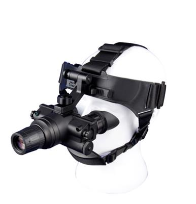 邁視達NVS-H2+*二代1倍頭盔式雙目夜間巡查微光夜視儀