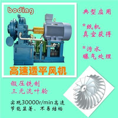 HLYFAⅠ透平風機余熱可回收處理節能