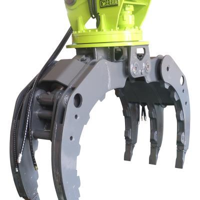 北奕機械20型號液壓抓木器抓鋼器廢鐵廢料抓取裝車挖掘機抓子廢鋼廠抓料爪子