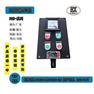 BXK防爆控制箱 防爆防腐 按鈕盒 三防配電箱 戶外就地遠程操作箱