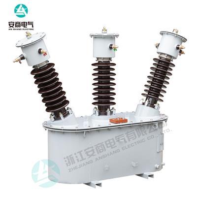 油浸式戶外高壓JLS-35三相三線組合式互感器高壓計量箱定制電流比