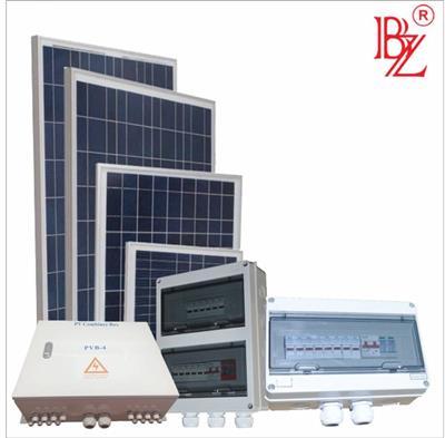 邦照牌PVB-2路光伏防雷防反智能型匯流箱