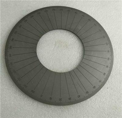 銅刻度環 搖臂鉆刻度盤 測量尺子 激光圓周刻刻度個性加工 -華諾激光