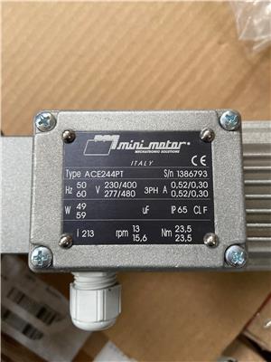供應minimotor 電機 減速機ACE-244PT-213-B5