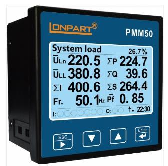 LONPART龍帕特    PMM50系列智能儀表