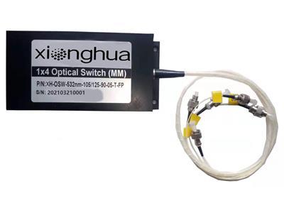 供應1X6機械式光開關XH-OSW-1X6多路單模多模定制