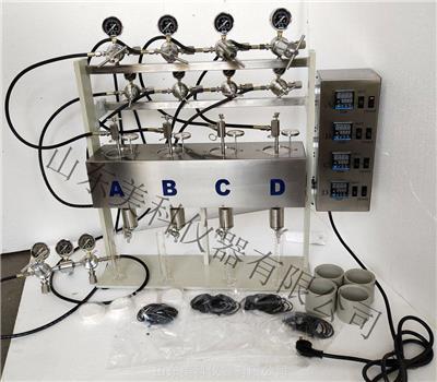 四聯高溫高壓濾失儀 美科GGS42-4A四聯高溫高壓泥漿失水量測定儀支持定制