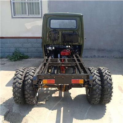 柴油短途運料車 乾宇工地裝卸砂石翻斗車 農用三馬車