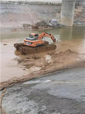 水挖機出租 普洱水陸挖掘機租賃服務