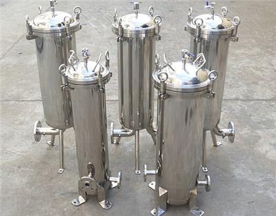 賀州梧州不銹鋼袋式過濾器工作原理